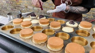 The Imagawayaki Cake from Japan. London Street Food of Brick Lane