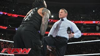 Mr. McMahon decides Roman Reigns