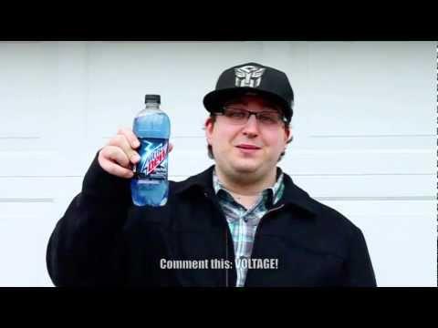 Mountain Dew Voltage is Zombie Pepsi Blue!