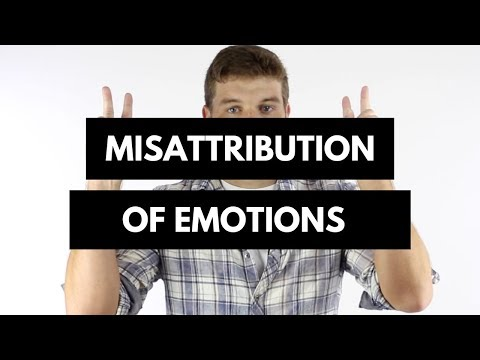 What Is Misattribution Of Emotions