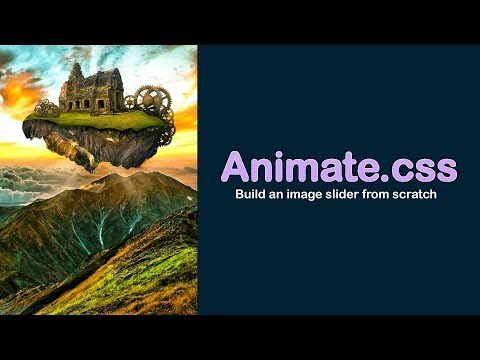 Animate.css Tutorial - Building a Image Slider with jQuery