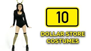 Download 10 Last-Minute DOLLAR STORE Halloween Costume Ideas 🎃 Video