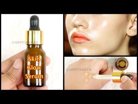 Skin Tightening SUMMER GLOW Serum    DIY Makeup Primer