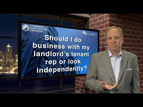 Should I do business with my landlord's tenant rep or look independently?