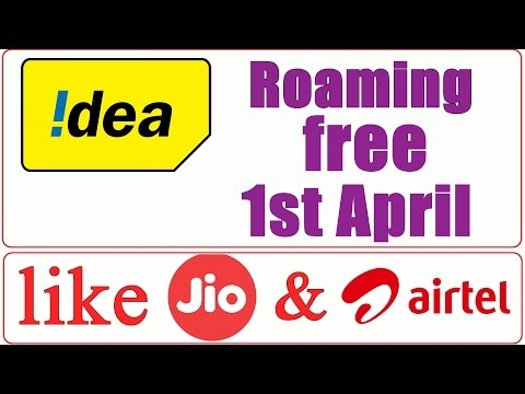 Idea Roaming Free from 1 April 2017