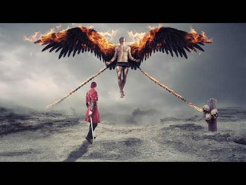 Devil angel fantasy photo manipulation | photoshop tutorial cs6/cc