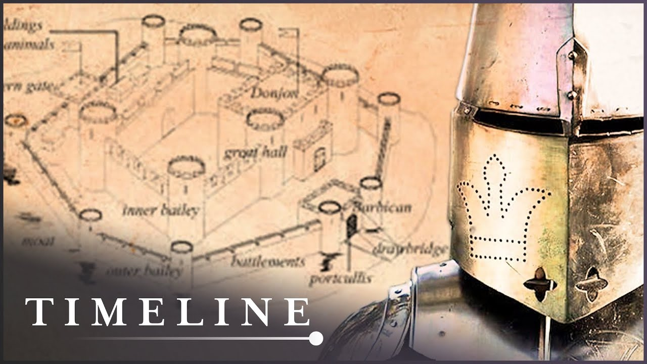 Building A Medieval Castle Using Authentic Tools   Secrets Of The Castle   Timeline