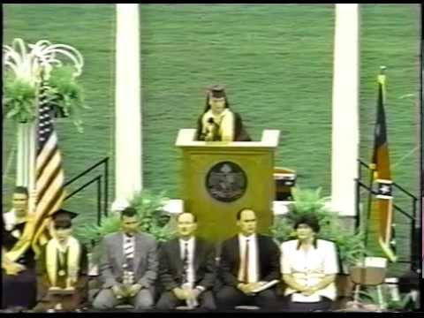 Central High Carrollton Georgia Graduation 1994