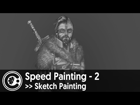 Speed Painting - 2 | SKETCH PAINTING