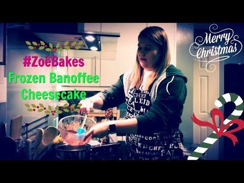 Jamie Oliver's Frozen Banoffee Cheesecake | #ZoëBakes