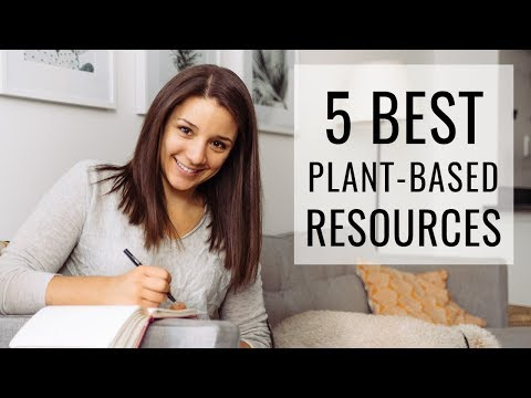 5 BEST PLANT-BASED RESOURCES + my Holistic Nutritionist Certification