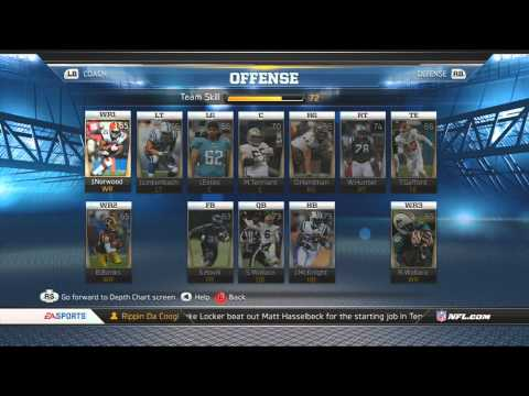Madden 13 Making An Ultimate Team.