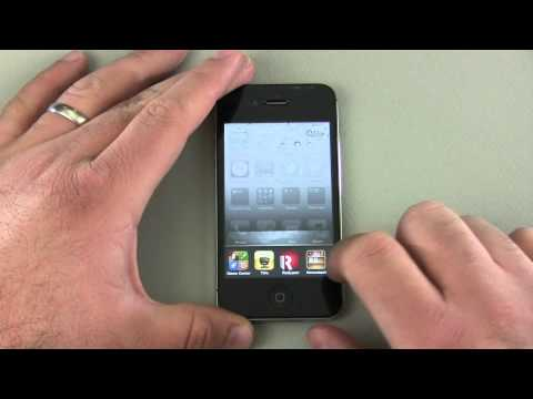 iPhone 4 / 4S Tips - Apps, Folders and Multitasking