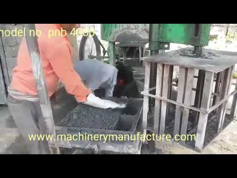 low cost fly ash brick machine