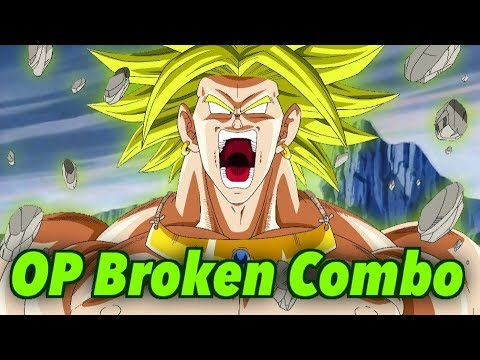 Broly Full Health Death Combo In Dragon Ball xenoverse 2