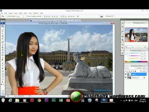 adobe photoshop cs3 - cut picture using pen tool
