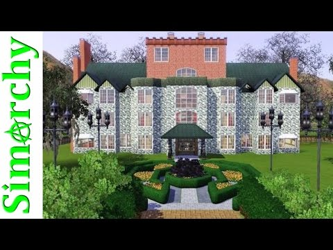 The Sims 3 Speed Build - Lex Luthor Castle Mansion - Let's Play Smallville  by Simarchy
