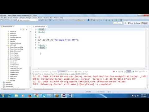 Java Tutorial 13: cookies,response.addCookie(ck),sessions,directive