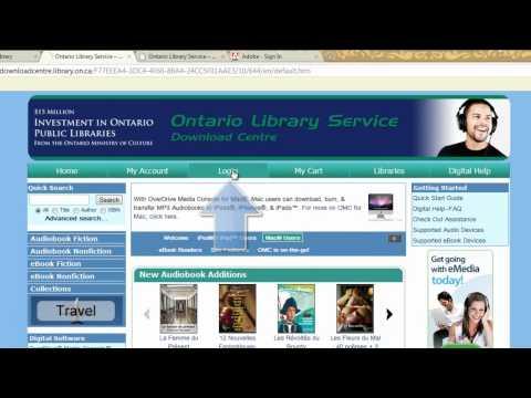 Overdrive eBooks at the Orillia Public Library
