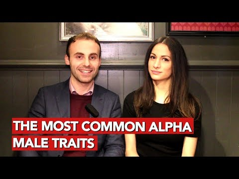 The most common alpha male traits!