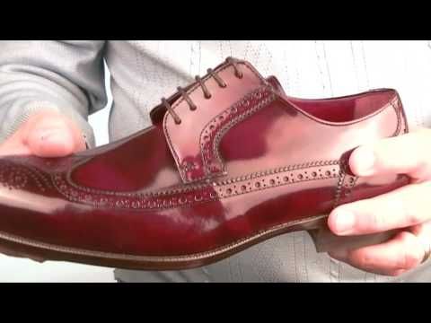 9f8afd3a197ee Mod Shoes Tassel Loafers for men and women · Modshoes The Harry Brogues In  Oxblood and Black Leather