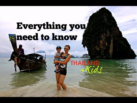 Travel to Thailand with baby or toddler   Tips and tricks   All you need to know