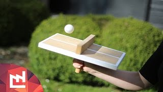 The Forever Alone ping-pong table