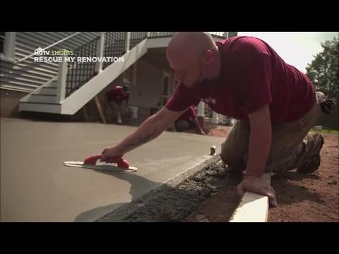 Patio Pad Installation Tips | Rescue My Renovation | HGTV Asia