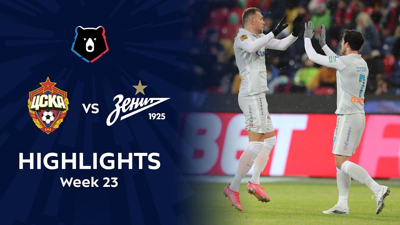 Highlights CSKA vs Zenit (2-3) | RPL 2020/21