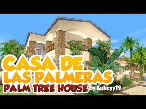 Sims 3 House Building - Casa de las Palmeras
