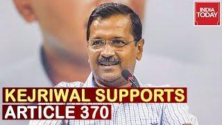 Arvind Kejriwal Speaks In Favour Of Govt