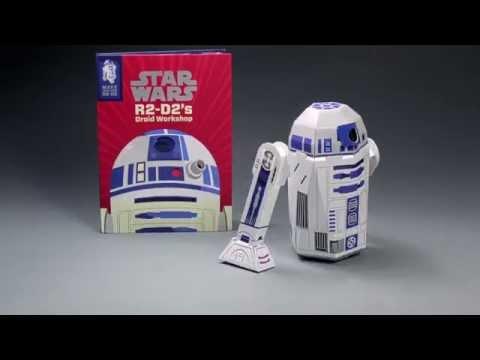 Star Wars R2-D2's Droid Workshop - Construction Book Tutorial