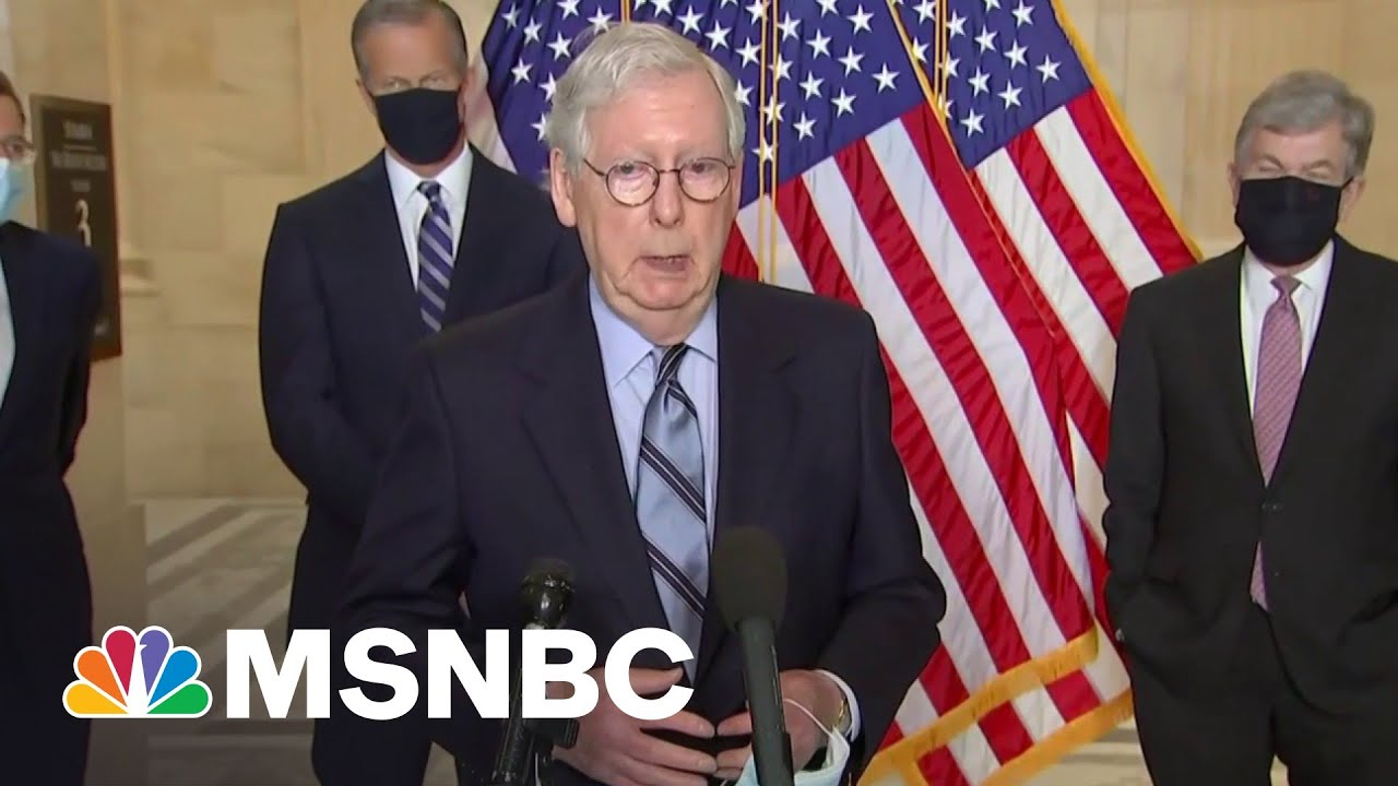 Why McConnell-Fox Attacks On 'Puppet' Biden Are Failing | MSNBC