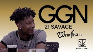 21 Savage Speaks on Hooking Up with Famous Women and His Love of R&B | GGN with SNOOP DOGG [FULL]