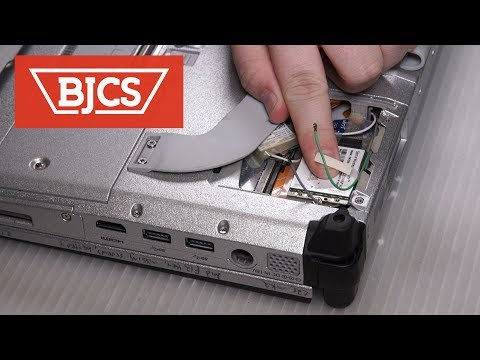 How to replace the Panasonic Toughbook CF-C2 MK2 WWAN