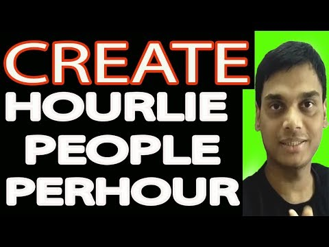 How to create hourlie for Admin support on peopleperhour for beginners 2018   Hindi