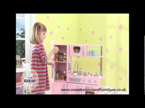 KidKraft Pink Vintage Kitchen 53179 - www.woodentoysandfurniture.co.uk