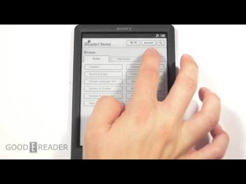 Sony Reader PRS-T3 Review