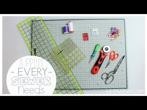 Basic Supplies EVERY Sewer and Quilter Needs | Arteza GIVEAWAY {CLOSED} | Whitney Sews