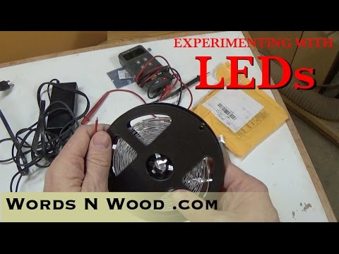 Can LED strip lights replace Fluorescent!?  (WnW #46)