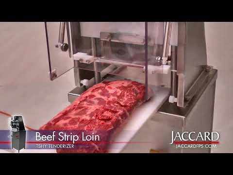 jaccard tshy tenderizes beef strip loin