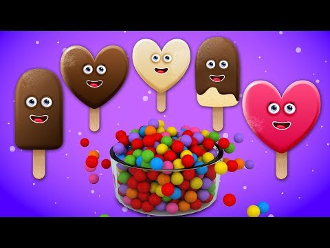 Learn Colors with Ice Cream Finger Family Song | Daddy Finger Rhyme