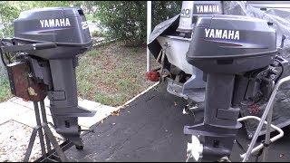 Yamaha 25hp 2 stroke starting problem solved! | Music Jinni