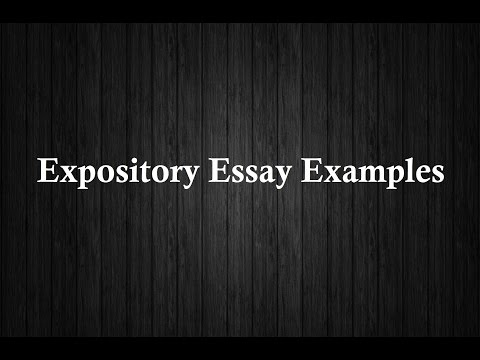 expository essay examples 2016