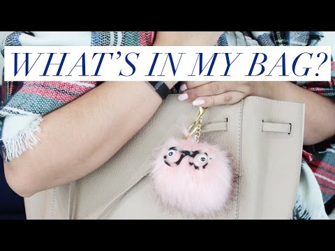 WHAT'S IN MY BAG? // Winter Work Edition