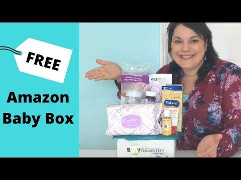 FREE Amazon Baby Registry Welcome Box