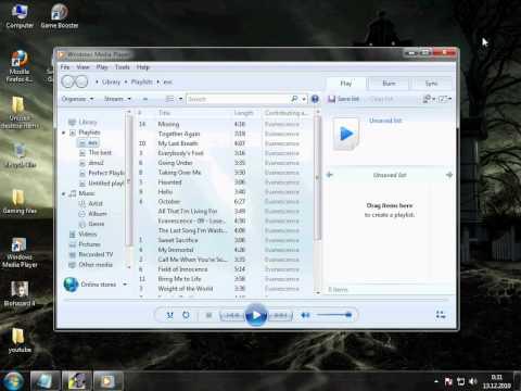 How to add lyrics to windows media player