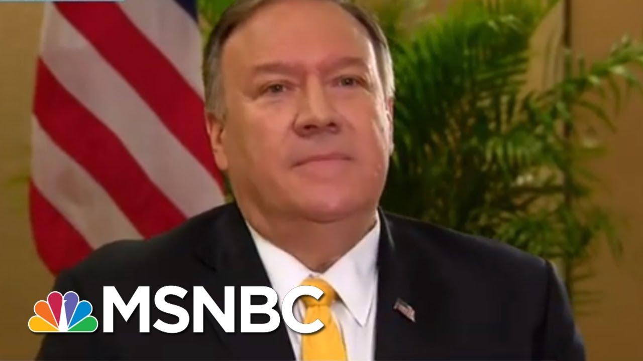 As Trump Installs Enablers, He Leaves Behind Witnesses | Rachel Maddow | MSNBC