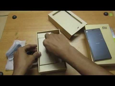Xiaomi Mi3 Unboxing and First look (Indian Version