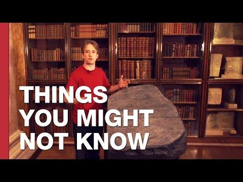 How The Rosetta Stone Unlocked Hieroglyphics